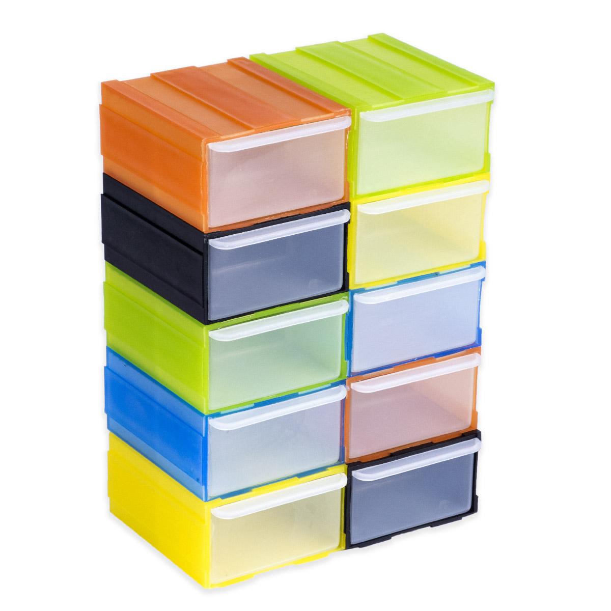 farbigee modularee Schubladenblock