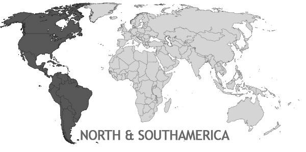 Versandkosten Nord- und Südamerika